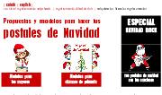 Christmas. Propuestas y modelos para hacer tus  postales de Navi...