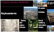 El plano urbano de Sevilla